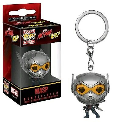 Keychains--Ant-Man and the Wasp - Wasp Pocket Pop! Keychain