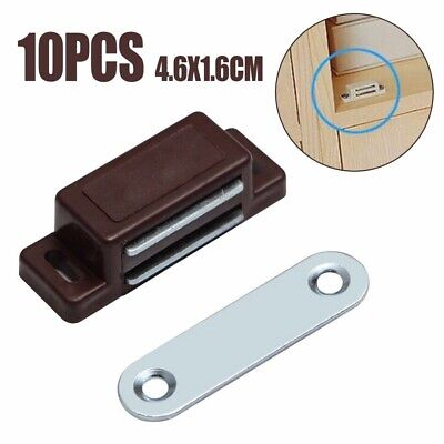 10Pcs Magnetic Door Catches ForFurniture Kitchen Cabinet Cupboard Wardrobe Latch