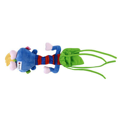Toddler Infant Baby Teething Rattle Bed Stroller Crib Handbell Wind Bell Toys BS