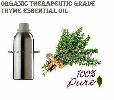 Thyme Essential Oil Pure Natural Therapeutic Aromatherapy (5ml -100ml) - F/S