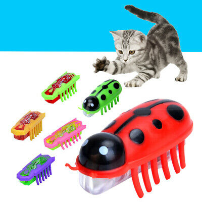 Funny Nano Electronic Insect Pet Cat Puppy Kitten Interactive Training Play Toy