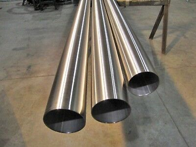 "Polished Stainless Steel Round Tube - 1"" x .065"" x 72"""