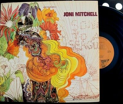 JONI MITCHELL Self Named LP Vinyl 1968 Canada Press VG+/VG+
