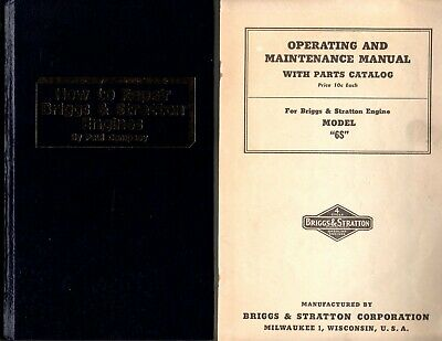 How to Repair Briggs and Stratton Engines and Brigss/Stratton Model S manual