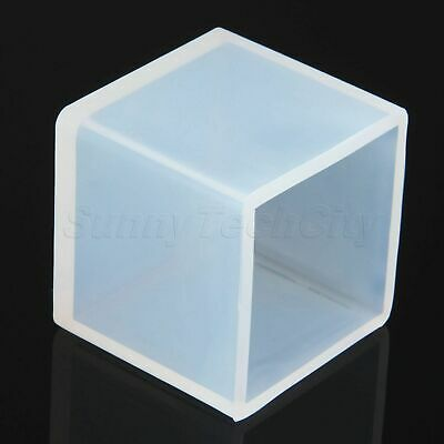 Durable Silicone Resin Mold for DIY Jewelry Ornament Pendant Making Cube Mould