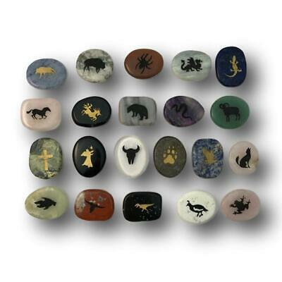 Nature/'s Spirit Totem ENERGY STONES Luck worry Your Choice  ALL ANIMALS