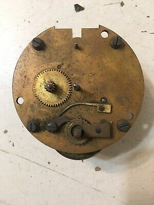 Antique Platform Escapement Clock Movement Parts Waltham Era