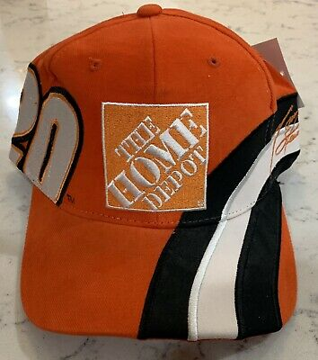 check out bf7e9 cbd99 Tony Stewart  20 Home Depot Racing NASCAR Chase Authentics Cap 100% Cotton  Hat