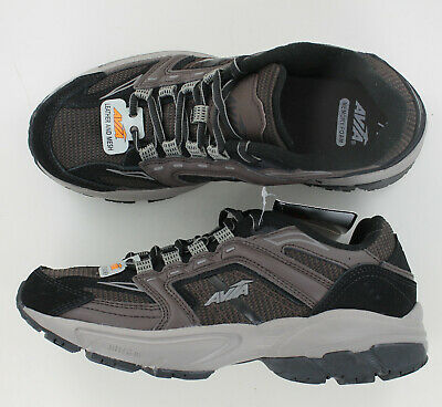 Avia Jag Men/'s Brown Leather and Mesh Athletic Shoe New w//Tags Fast Shipping
