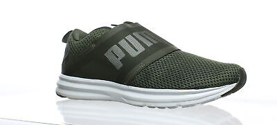 3f2c66e66330 PUMA Mens Enzo Strap Mesh Green Running Shoes Size 8.5 (191516)