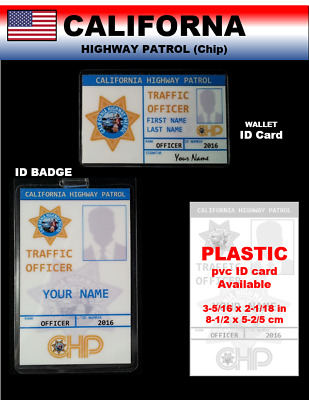 international ID collection...USA...2 card set...<<CHiP>>