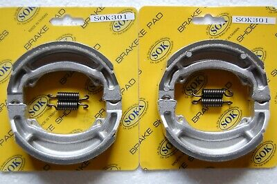 REAR BRAKE SHOES+Springs fit SUZUKI DR 200 SE Djebel 1993-2015 DR200