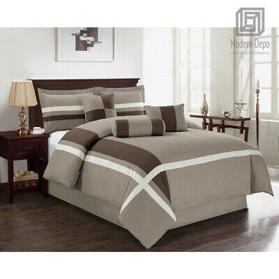 7bf6ad7dfb 7 Pieces Down Alternative Comforter Queen All Season Bed In A Bag Home  Bedding