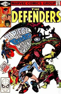 Defenders (1st Series) #92 1981 VG Stock Image Low Grade