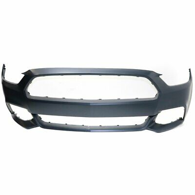 Bumper Cover For 94-98 Ford Mustang Front Base GT Primed With Fog Light Holes