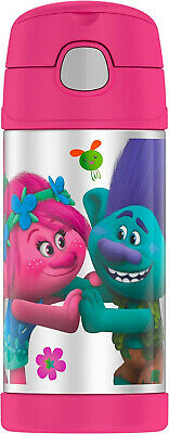 Thermos Funtainer 12 Ounce Bottle, Trolls