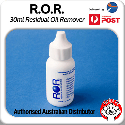 ROR Professional Screen Cleaner - 1Oz/29.8ml Bottle (Residual Oil Remover)
