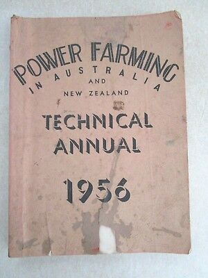 1956 Power Farming Technical Annual - 390 Pages