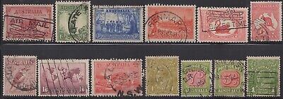 1914-38 Group of Commemoratives, KGV heads and Postage Dues, used -2-