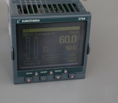 Eurotherm 2704 multi loop temperature controller