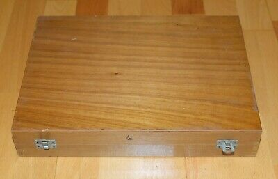 Wooden Case for 35mm Slides - Holds over 400 - Film Slides etc - BARGAIN