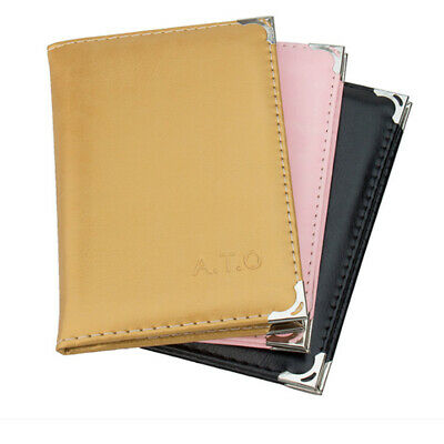Leather Driver License Case Wallet Car Driving Documents Card Credit Holder