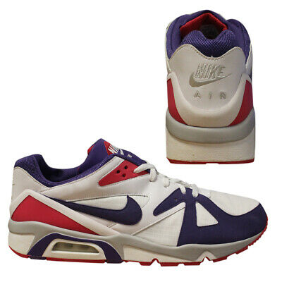 reputable site 640db ad28f Nike Air Structure Triax 91 2008 Retro Vintage Mens Low Trainers 318088 151  D43