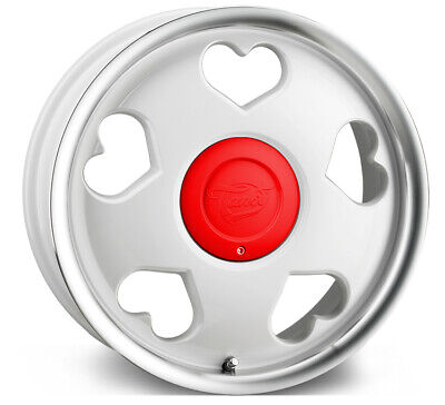 """Alloy Wheels 16"""" Tansy Love White For Rover 45 00-05"""