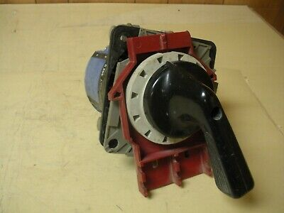 Kraus & Naimer C205 Style MC A202 Rotary Switch, Damaged