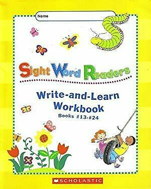 Sight Word Readers Write-and-Learn Workbook Books #13-#24 by Scholastic