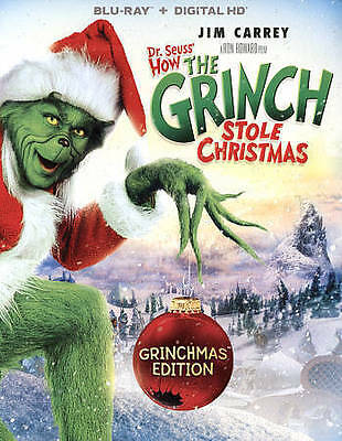 Dr. Seuss' How The Grinch Stole Christmas [Blu-ray], Very Good DVD, Mindy Sterli