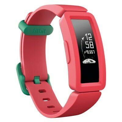 Fitbit Ace 2 Kids Activity Tracker Watermelon With Teal NEW