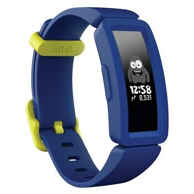 Fitbit Ace 2 Kids Activity Tracker Night Sky With Neon Yellow NEW