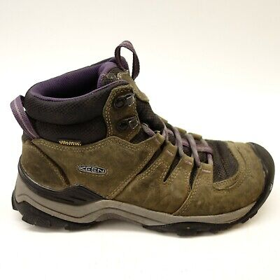 874bf5d4adc KEEN WOMENS SIZE 7.5 Gypsum II Mid Leather Waterproof Trail Hiking Shoes  Boots