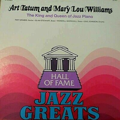 "Art Tatum & Mary Lou Williams ""king And Queen Of Jazz"" Premium Used Lp (Nm/ex)"