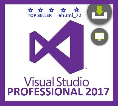 Visual Studio 2017 Professional - FAST DELIVERY⭐Lifetime License⭐