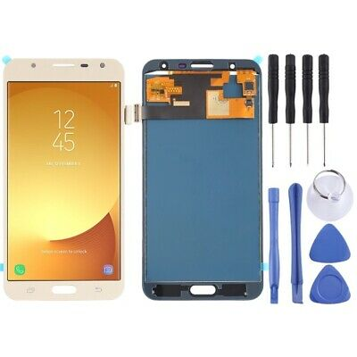 LCD Screen and Digitizer Full Assembly (TFT Material ) for Galaxy J7 Neo Gold