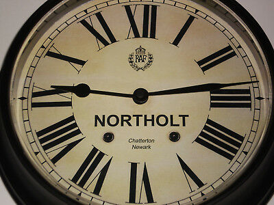 Royal Air Force Style, RAF Northolt, Souvenir Vintage Style Wall Clock.