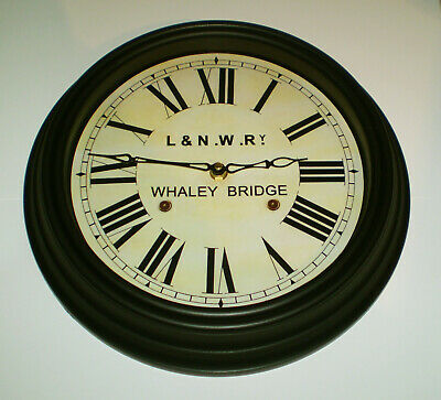 London & North Western Railway Victorian Style Clock, Whaley Bridge Station