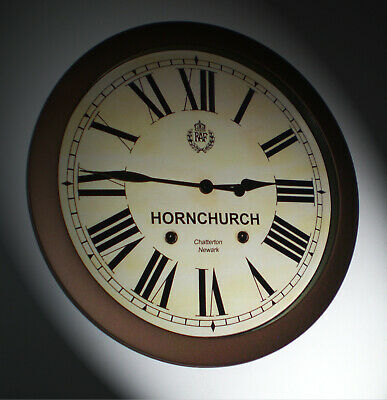 Royal Air Force Style, RAF Hornchurch, Souvenir Vintage Style Wall Clock.
