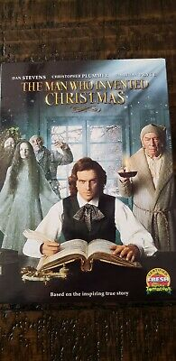 The Man Who Invented Christmas [New DVD W/ Slip] Brand New Sealed FREE SHIPPING!