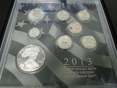 2013 United States Mint Limited Edition Silver Proof Set, 50,000 pieces SOLD OUT