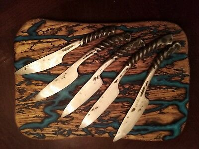 Hand forged rebar knife apx. 7in in total 3in blade ... made to order ,unlimited