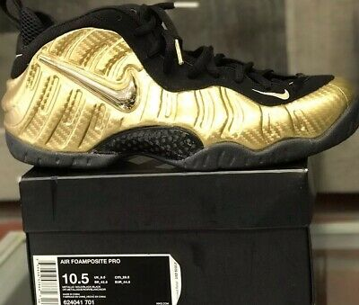 huge discount 7841a a6e55 USED Nike Air Foamposite Pro Metallic Gold, 624041-701 Size 10.5 Mint  Condition