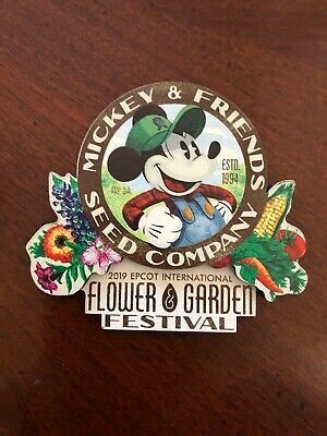Disney Epcot 2019 Flower and Garden Festival Magnet