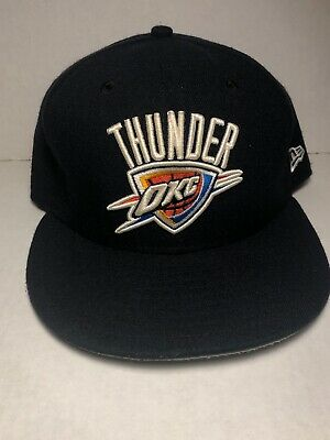 exclusive shoes get online shop best sellers OKC THUNDER HAT New Era Fitted Cap 7 5/8 Oklahoma City Thunder ...