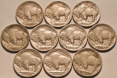 *fantastic Buffalo Nickel Collection 1913-38! *20 Awesome Keys! *54 Total Coins!