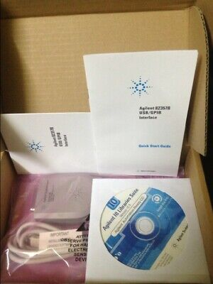 New In Box HP Agilent 82357B USB-GPIB Interface High-Speed USB 2.0 one year warr