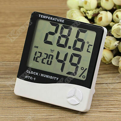 Mini Indoor/Outdoor Hygrometer Digital LCD Thermometer Humidity MeterTemperature