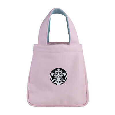 Limited Taiwan Starbucks 2019 Pinky Spring Siren Bag For Takeaway/ Lunch Box